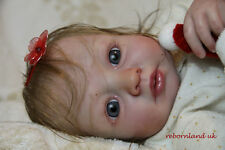 "REBORN DOLL KIT, 20"" - WITH OR WITHOUT DOE SUEDE BODY!- ""EVELYN """