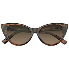 Womens Black Cat Eye Sunglasses Retro Fashion Classic Glasses Vintage Shades