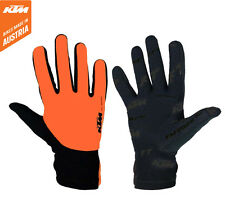 Genuine KTM Bike Industries Factory Team Cycling Gloves. Road / MTB / CX Bike