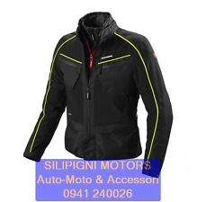 SPIDI INTERCRUISER H2OUT D168 - 486 NERO GIALLO FLUO GIACCA MOTO 3 STRATI