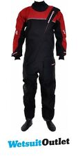 2017 Crewsaver Cirrus Drysuit Including UnderFleece Dry Bag in Black / RED 6515