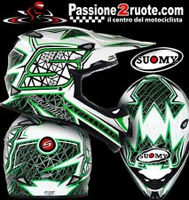 Casco motorrad enduro cross motard de carretera ensayo Suomy Mr jump s línea