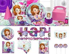 Sofia The First Birthday Party Supplies Tableware Plates Napkins Cups Invites