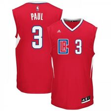 Maillot NBA Chris Paul Los Angeles Clippers Rouge adidas replica pour homme