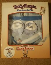 TEDDY RUXPIN WORKOUT OUTFIT IN BOX WORLDS OF WONDER 1985 vintage clothing