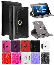 360 Universal Folio Leather Case Cover For Android Tablet PC 7, 9.7, 10 Inch