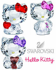 SWAROVSKI CRYSTAL originali hello kitty nuovi retired