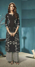 Office Wear Readymade Black Palazzo With Tunic Set - 13261