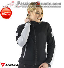 Jacket moto Dainese Air Frame Tex lady nero high rise perforated spring summer
