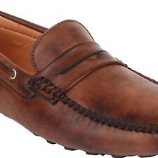 Guava Driving Loafers - Brown