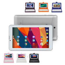 """iRULU eXpro 7"""" 16GB Tablet PC Android 4.4 Quad Core Dual Cam w/Keyboard Folios"""