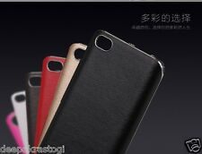 LUXURY CHROME BUMPER WITH PU LEATHER BACK CASE COVER FOR XIAOMI MI5