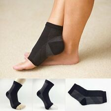 Unisex Relief Foot Pain Compression Sleeves Heel Ankle Socks Sports Socks 1Pc