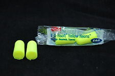 3M™ E-A-Rsoft™ Yellow Neons™ Uncorded Earplugs 312-1250,33db,foam ear plugs