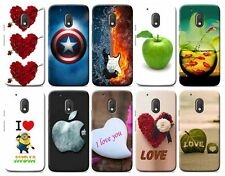 For Moto G4 Play 4th Gen DESIGNER PRINTED SOFT BACK COVER SILICON CASE