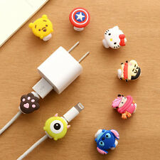 Cute Kawaii Lovely Cartoon Cable Protector Usb Cable Winder Cover Case Shell For