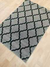MODERN MEDIUM LARGE GREY  RUG ALL FLOORS LIGHTNING  CARPET MAT RUNNER  SOFT PILE