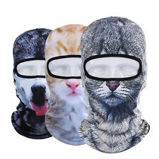 New 3D Animal Cat Dog Outdoor Bicycle Bike Cycling Motorcycle Sports Ski Hats Ba