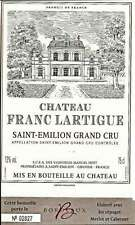 Château Franc Lartigue  - Saint-Emilion Grand Cru - Vin rouge - 37.5 Cl