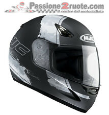 Casco integrale Hjc cs14 Paso mc1f nero opaco grigio black mat grey