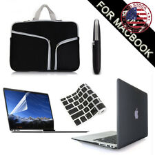 """Black Hard Case+Keyboard/LCD Cover+Carry Bag fr Macbook Pro/Air 13 15"""" A1932 New"""