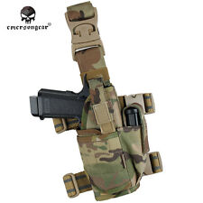 EMERSON Drop Leg Holster Pistol Thigh Holster Tactical Universal Tornado Airsoft