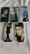 High Quality NEW Case Justin Bieber for Apple Iphone 5/5G5S +free pink wristband