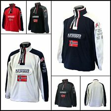 Geographical Norway Suéter Con Forro Tim Hombre/ Talla S-XXL/ 5 Varios Colores
