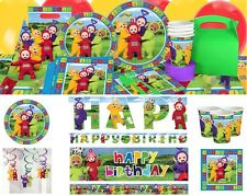 Teletubbies Laa Laa Po Dipsy Tinky Winky Birthday Party Supplies Tableware