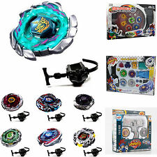 Beyblade 4D Metal Fight Masters Fusion Top Rapidity Launcher Set Kids Toys Game