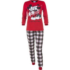 Pigiama Tuta Due Pezzi Minnie Mouse & Topolino Da Donna Ragazza A Perfect Day Ro