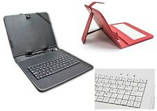 "Funda Tablet con Teclado disponible en 7"", 8"", 9"", y 9.7"" - incluye Ñ -"