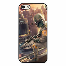 Boba Fett Star Wars Dark Side Guard PHONE CASE COVER fits iPHONE 4 5 6 7