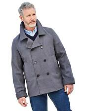 Mens Pegasus Wooltouch Reefer Jacket