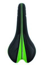 VELO Saddle Senso Competition 1376 black with glossy green design