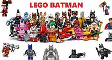 LEGO BATMAN MOVIE MINIFIGURES 71017 & DC SUPER SUPER HEROES MINIFIGURES ETC NEW