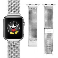 100% Stainless Steel Replacement Strap Band Apple Watch 38 42mm Series 1 and 2