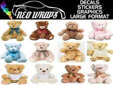 Photo/Picture Teddy Bear Cute Cuddly Soft toy Personalised 12 styles