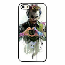 Joker dark Knight Heath Ledger Art 1 PHONE CASE COVER fits iPHONE 4 5 6 7