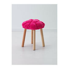 IKEA STICKAT Stool Covers Yellow Pink Green Soft To Sit For IKEA MARIUS Stool