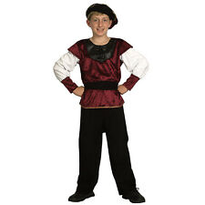 #Book Weeks Costume Renaissance Prince For Children Medieval Gothic Fancy Dress
