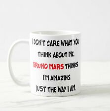 Bruno Mars Gift Mug Funny Coffee Mug Cup Unique Mug Great Gifts for Her / Him