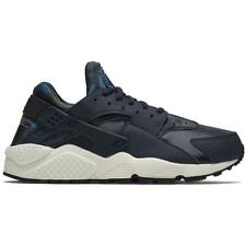 mujer NIKE AIR HUARACHE RUN estampado Obsidiana Zapatillas 725076 400 UK 4.5 EU