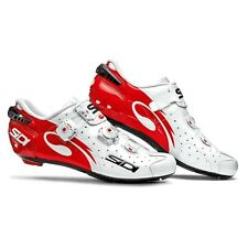 Sidi Wire Carbon Vernice White Red