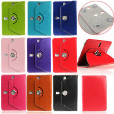 VaiMi ™★ ROTATING 360° LEATHER FLIP STAND COVER for ★ Datawind Ubislate 3G7Z ★