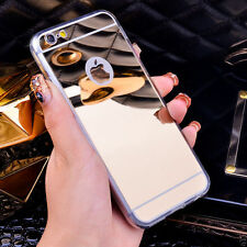 For Apple iPhone 6,6S Luxury Case Soft Silicone Mirror Back Cover