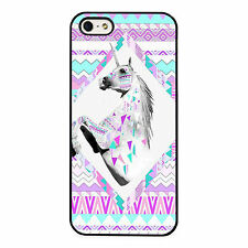Unicorn Funky Fantasy Colourful Tribal PHONE CASE COVER fits iPHONE 4 5 6 7