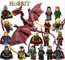 Warner Brothers WB The Hobbit Lord of The Rings Custom Mini Figures  fits lego
