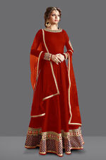 Party Wear Bhagalpuri Anarkali Suit - 71059G