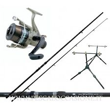 Kit Pesca Carp Fishing Canna da Pesca + Mulinello + Rod Pod + Filo FS